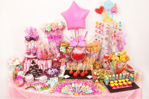 Mesas de dulces para fiesta infantil imagui for Mesas fiestas infantiles