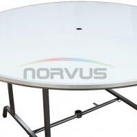 Mesas redondas plegables al mejor precio